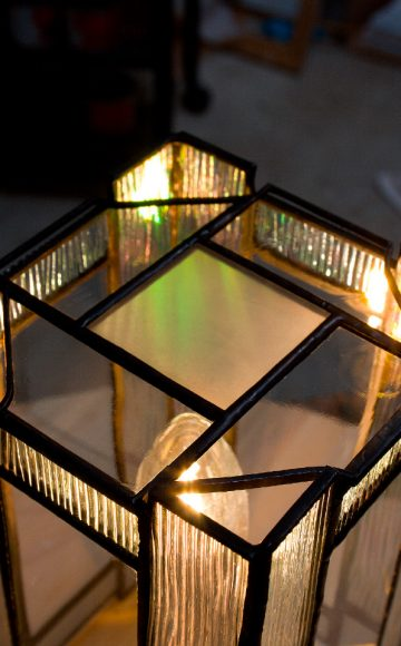 Lampe-Silenzio-verre-transparent-Gironde